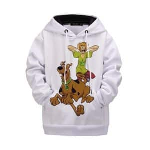 Scooby & Shaggy Out Of Weed Design Funny 420 Kids Hoodie