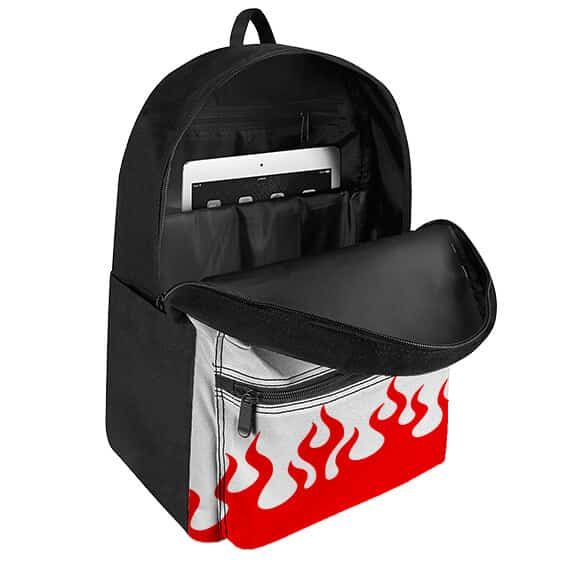 Seventh Hokage Coat Pattern Naruto Uzumaki Backpack Bag