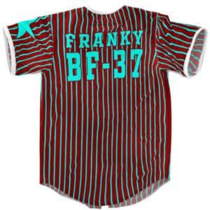 Straw Hat Shipwright Iron Man Franky BF-37 Baseball Jersey
