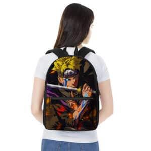 Teen Boruto Uzumaki Jougan Eye Stylish Naruto Backpack Bag