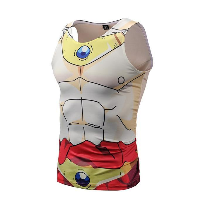 DBZ Broly Dope Compression Tank Top