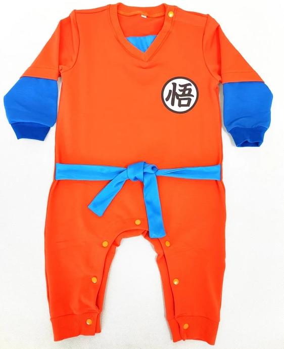 Kanji Logo Designs Comfy Long Sleeve Cosplay Baby Jumpsuit